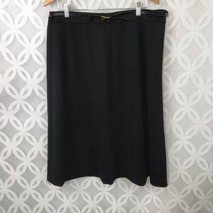 Jones New York The Isabel Black Skirt NWT